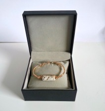 gold filed bracelet boxed