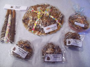 The Chocolate House photo pizza and choc treatsx