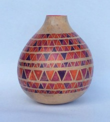 Gourd red triangles
