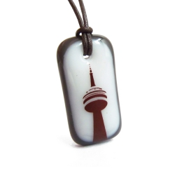 LeilaCools-CNTower-Necklace-WhiteCharcoal-