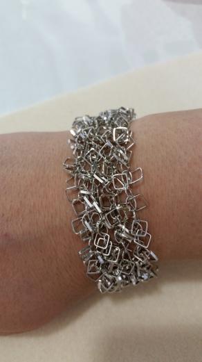 Swansea re multi squared bracelet
